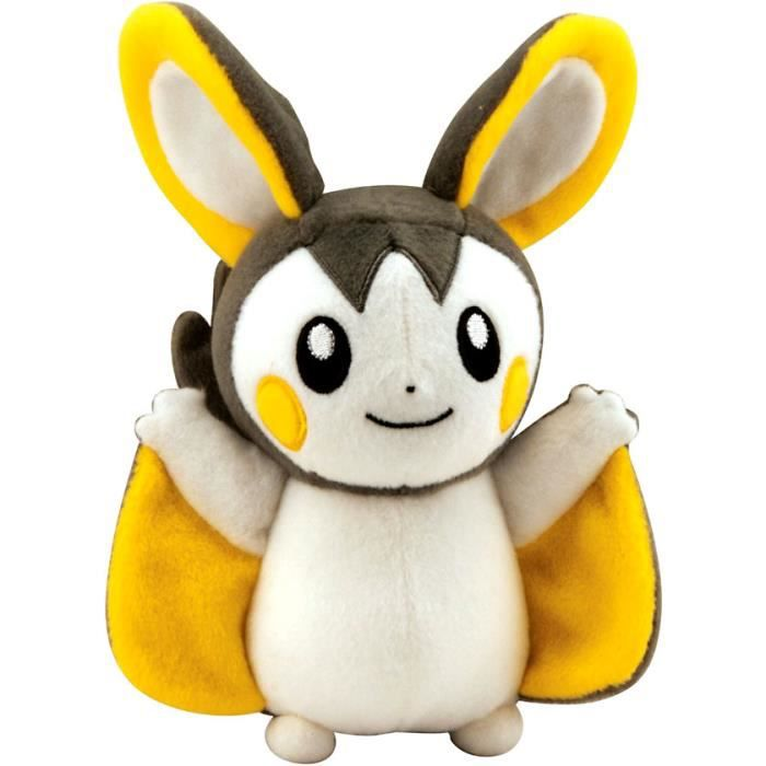 TOMY Pokemon 8 Inch Emolga Plush 1DB3G5