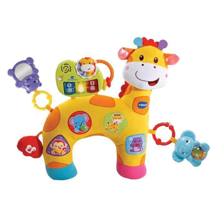 VTech Baby 80–506804 – Girafe Coussin, bébé Peluche