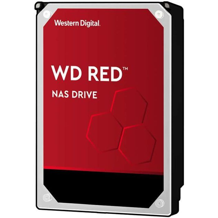 WD Red™ - Disque dur Interne NAS - 6To - 5 400 tr/min - Cache 256MB - 3.5- (WD60EFAX)