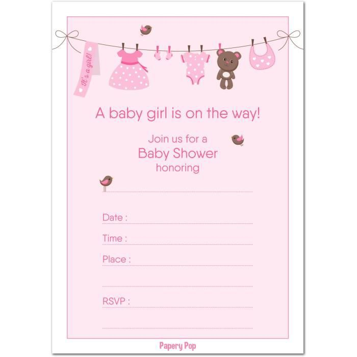 30 Baby Shower Invitations With