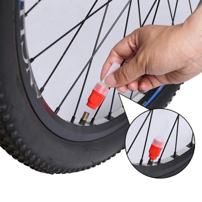 4PCS DEL Roue Pneu Valve Caps Neon Ampoule Pour Vélo Voiture Moto