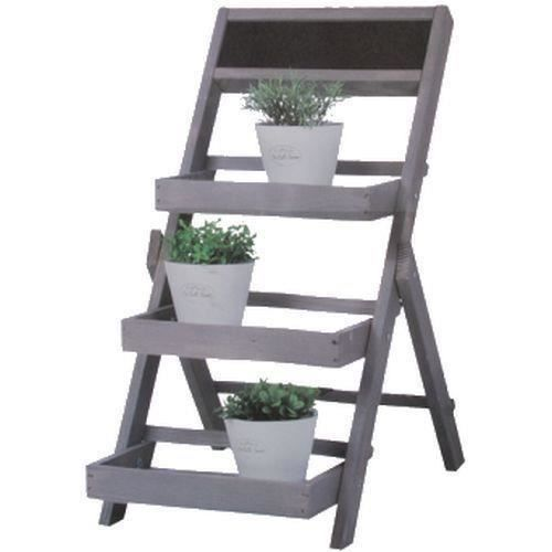 etagere bois support decoration maison fleur jardin plante. Black Bedroom Furniture Sets. Home Design Ideas