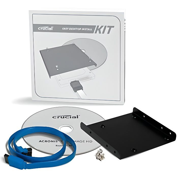 DISQUE DUR SSD Crucial Kit d'installation SSD  CTSSDINSTALLAC