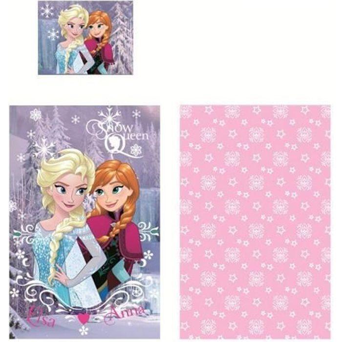 PARURE DE DRAP Parure de lit LA REINE DES NEIGES Frozen Disney 90