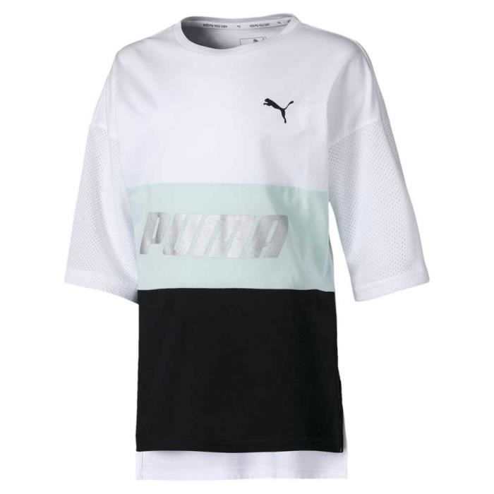 vêtements fille t-shirts puma modern sports boyfri