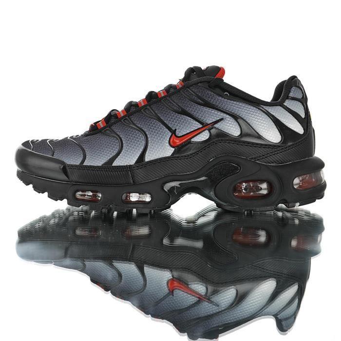 Baskets Nike Air Max TN Plus TXT Tuned 1 Homme Noir Noir Noir ...