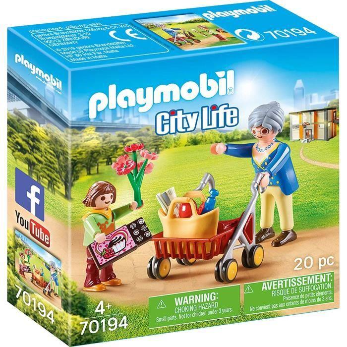 UNIVERS MINIATURE PLAYMOBIL 70194 - City Life L'Hôpital - Petite fil