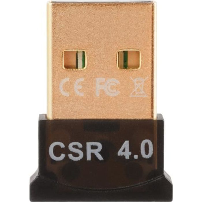 ADAPTATEUR BLUETOOTH XCSOURCE USB Bluetooth 4.0 Adaptateur Dongle (Le v