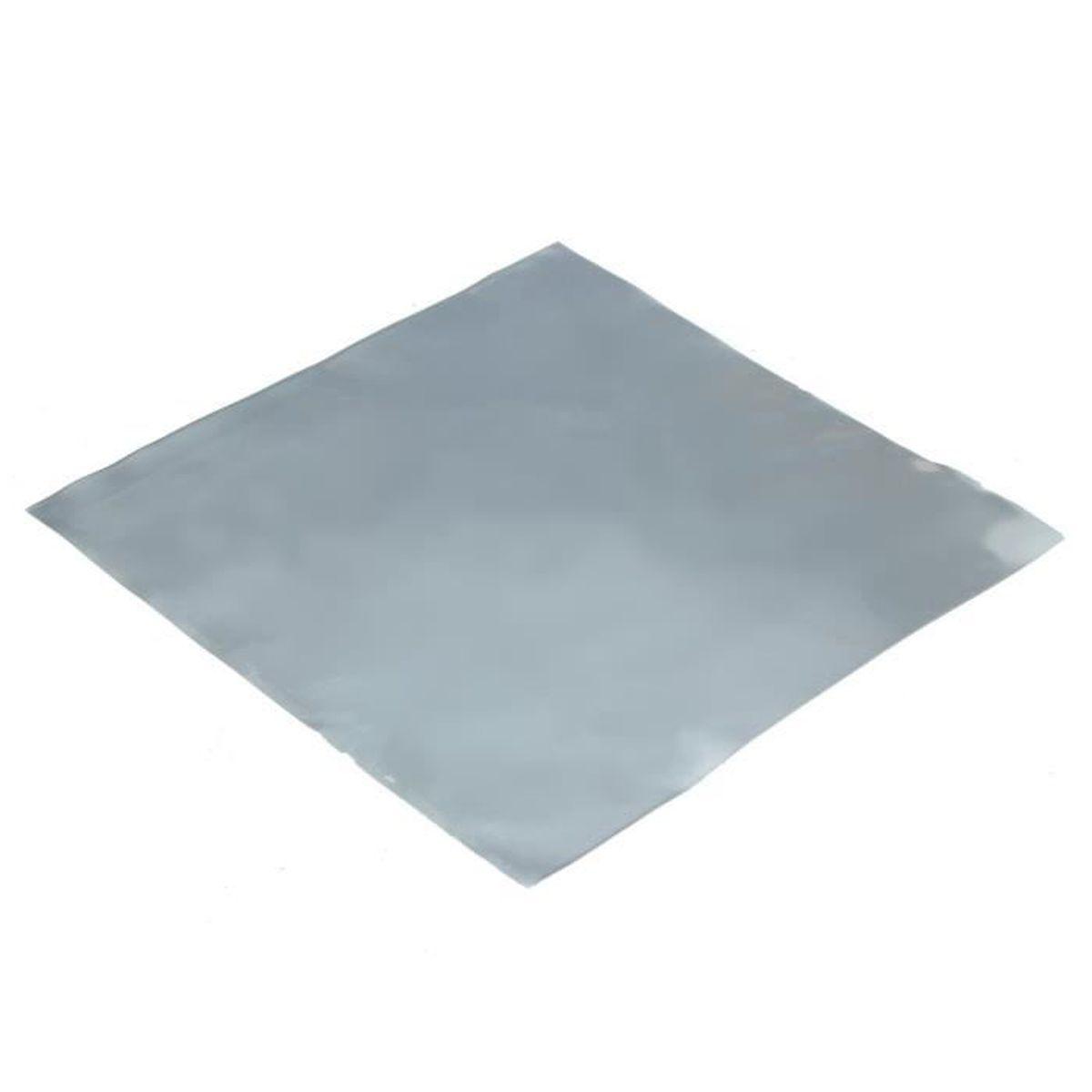 Feuille De Zinc Pour Cuisine zinc zn feuille plaque 100x100x0.2mm pr science chimie