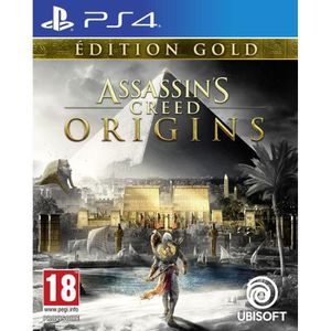 JEU PS4 Assassin's Creed Origins Édition Gold Jeu PS4