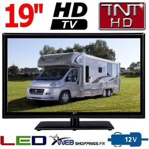 Téléviseur LED TV CAMPING CAR 19