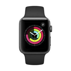 Montre connectée sport Apple Watch Series 3 42mm Aluminium - Gris sidéral