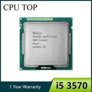 PROCESSEUR Intel i5 3570 Processeur Quad-Core 3.4 Ghz L3 = 6