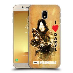 Officiel AMC The Walking Dead Carol Illustrations Affligé Coque en Gel molle pour Samsung Galaxy J3 (2017)
