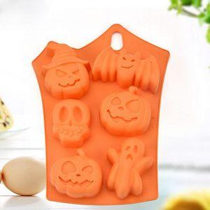 MOULE  Moule à gâteau Halloween Pumpkin 6 avec moule à gâ