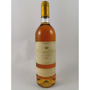 VIN BLANC Château d' Yquem 1995, Sauternes, Blanc Liquoreux,