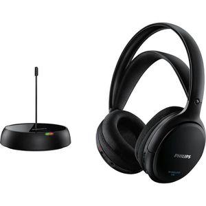 CASQUE - ÉCOUTEURS Philips SHC5200 Casque Hi-Fi sans fil - HP 32 mm/c