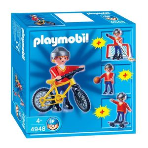 UNIVERS MINIATURE Playmobil Multisport Garçon