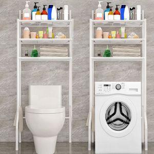 COLONNE - ARMOIRE WC Meuble Toilette WC Étagère Dessus Stockage Pour Sa