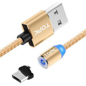CHARGEUR TÉLÉPHONE Câble Micro USB Chargeur Magnétique Pour Android O