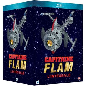 BLU-RAY DESSIN ANIMÉ Coffret de dessin animé Capitaine Flam - En Bluray