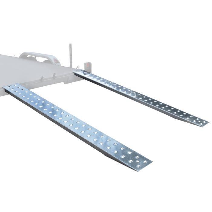 Fourgon porte-autos les rampes de chargement - diggers - Machines - rampe 2,5 m 1,5 tonne