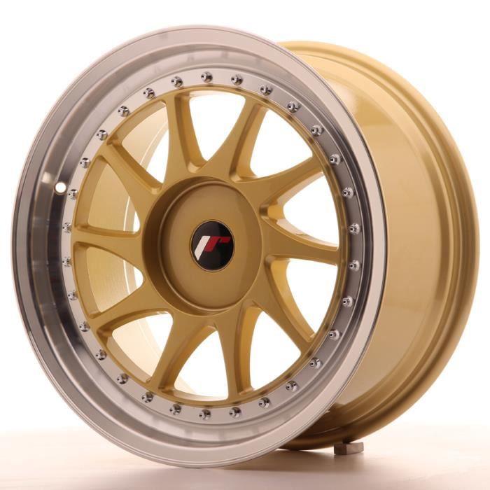 Jante Alu 18- Japan Racing JR26 18x8,5 ET20-40 Blank Gold