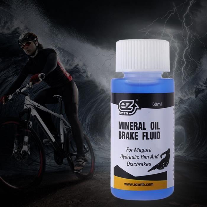 Pièce Détachée,Huile de frein à disque de vélo 60ml pour Magura lubrifiant minéral hydraulique vtt