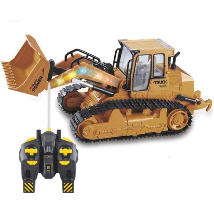 VEHICULE MINIATURE ASSEMBLE ENGIN TERRESTRE MINIATURE ASSEMBLE RC Bulldozer Caterpillar Tractor, 2 6 Construction du Canal .4 602