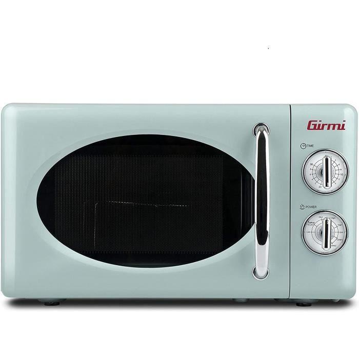 MICRO ONDES Girmi FM21 Four micro-ondes combin&eacute, design vintage, 20 litres, 700 + 800 W17