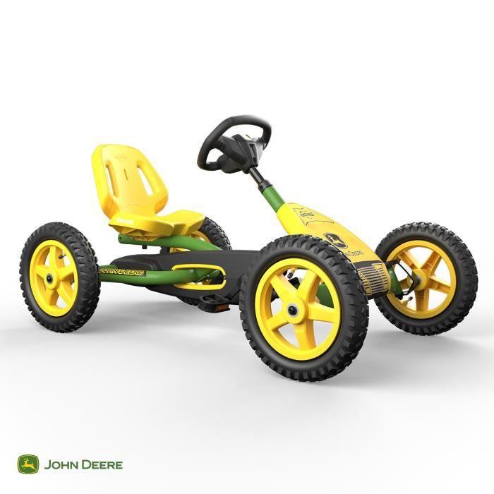 BERG Kart à pédales Buddy John Deere