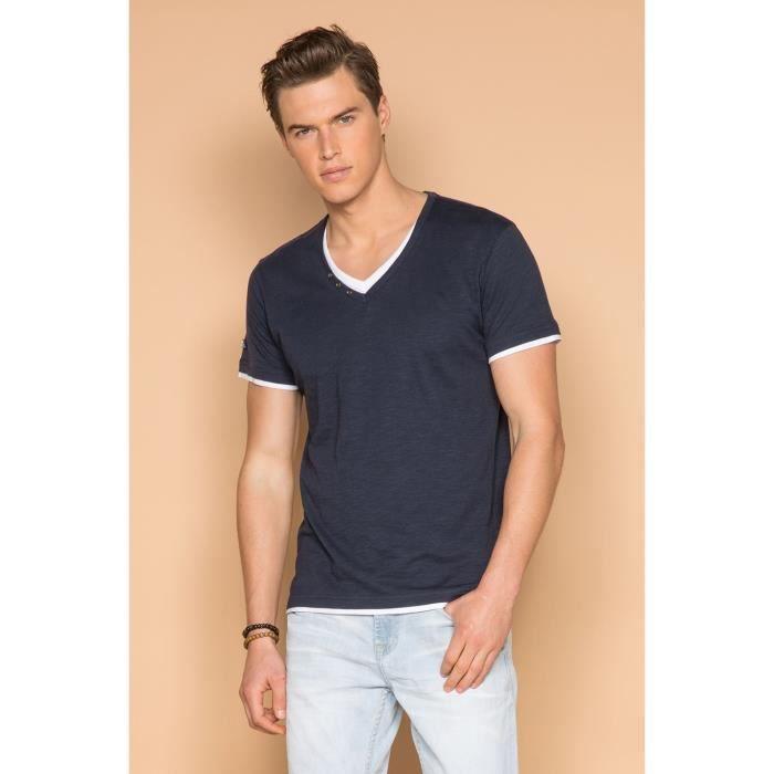 T-shirt à double col - LEGEND