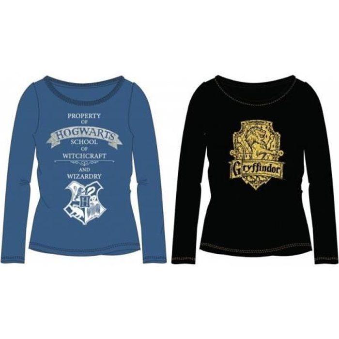 T-shirt manches longues enfant Hary Potter