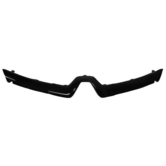 Enjoliveur grille de calandre supérieure pour RENAULT CLIO IV phase 1, 2012-2016, moulure noire.