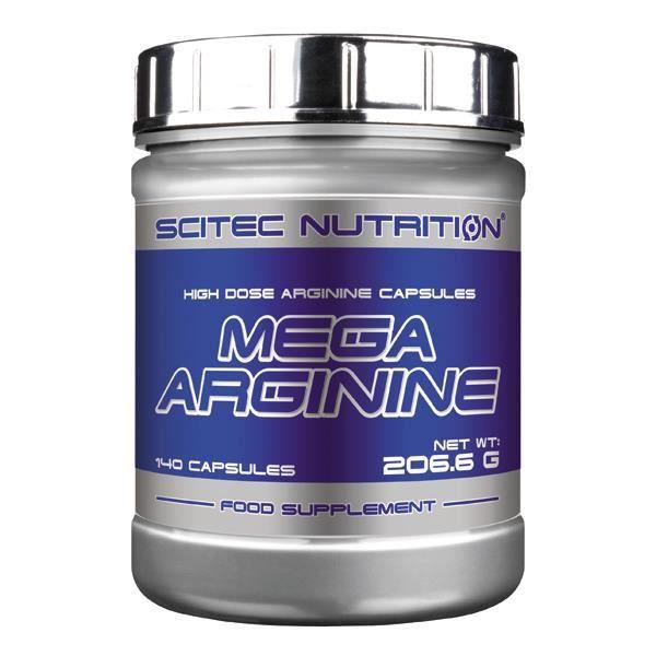 Mega Arginine 140caps Scitec Nutrition