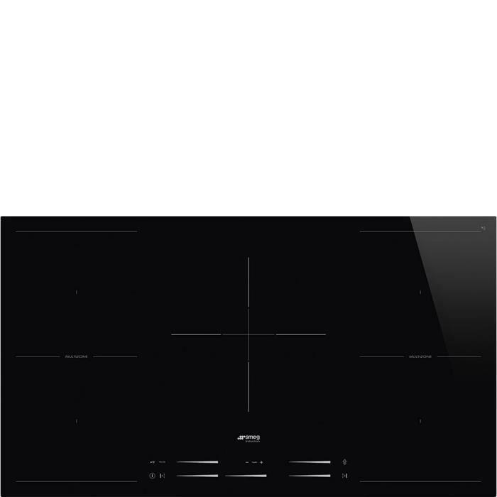 Smeg SI2M7953D, Intégré, Plaque avec zone à induction, Verre-céramique, Noir, 3200 W, 21 cm