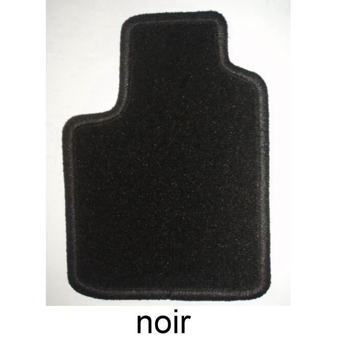 renault twingo 03 93 2007 4 tapis en velours noir achat vente tapis de sol renault twingo 03. Black Bedroom Furniture Sets. Home Design Ideas