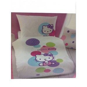 housse de couette hello kitty. Black Bedroom Furniture Sets. Home Design Ideas