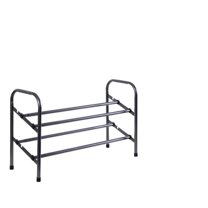 rack chaussures extensible achat vente cintre rack chaussures extensible cdiscount. Black Bedroom Furniture Sets. Home Design Ideas
