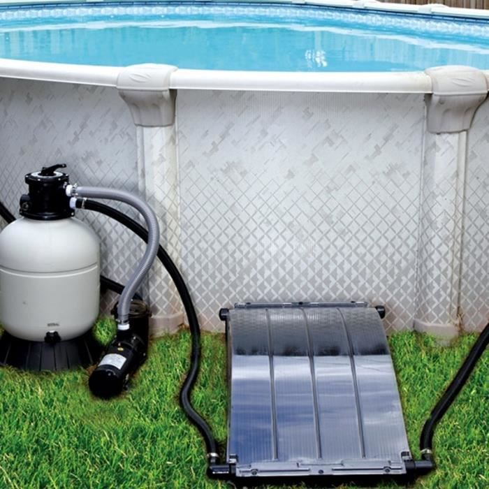 Chauffage solaire piscine hors sol solar arc achat for Chauffage piscine