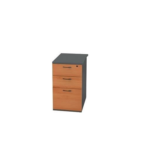 caisson hauteur de bureau profondeur 60 cm auln achat. Black Bedroom Furniture Sets. Home Design Ideas