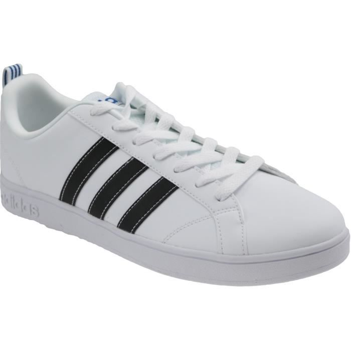 newest collection f34d9 76451 BASKET Adidas VS Advantage F99256 Homme Baskets Blanc,Noi