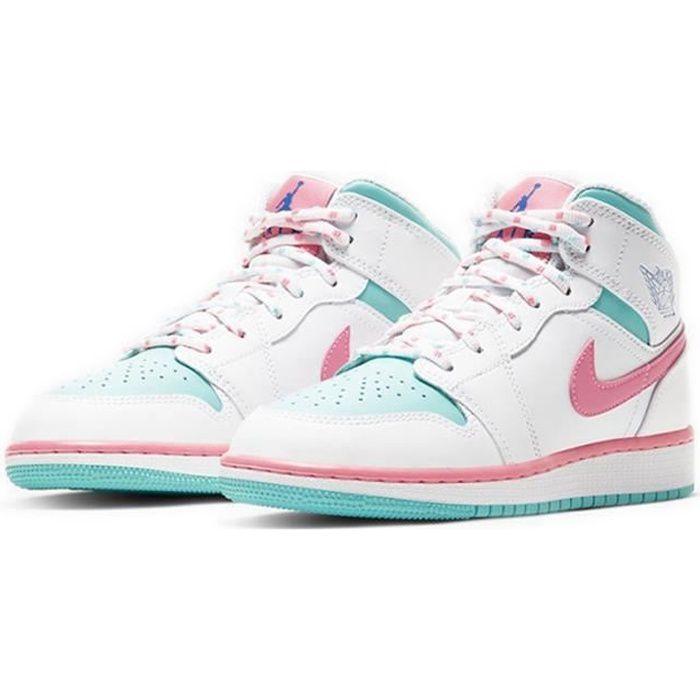 Basket Airs Jordans 1 Mid Femme Jordans One
