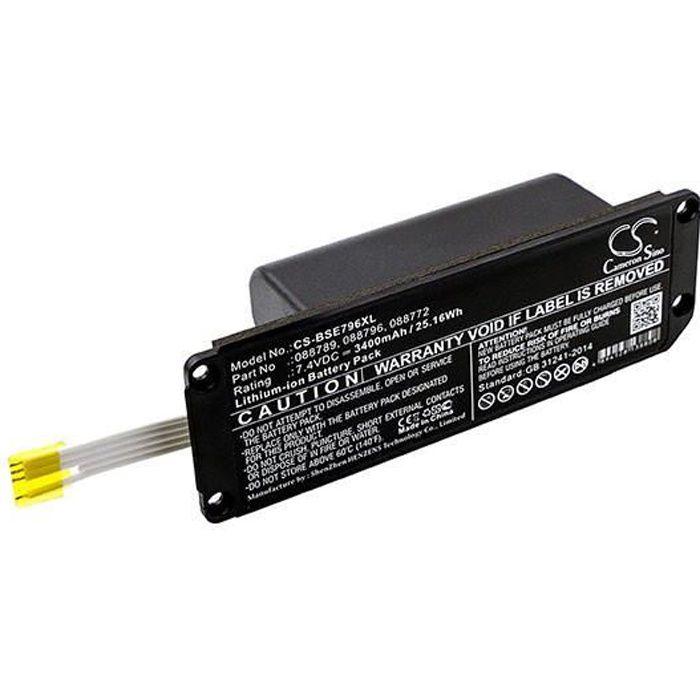TÉLÉCOMMANDE DOMOTIQUE  Batterie enceinte bluetooth pour Bose Soundlink Mi