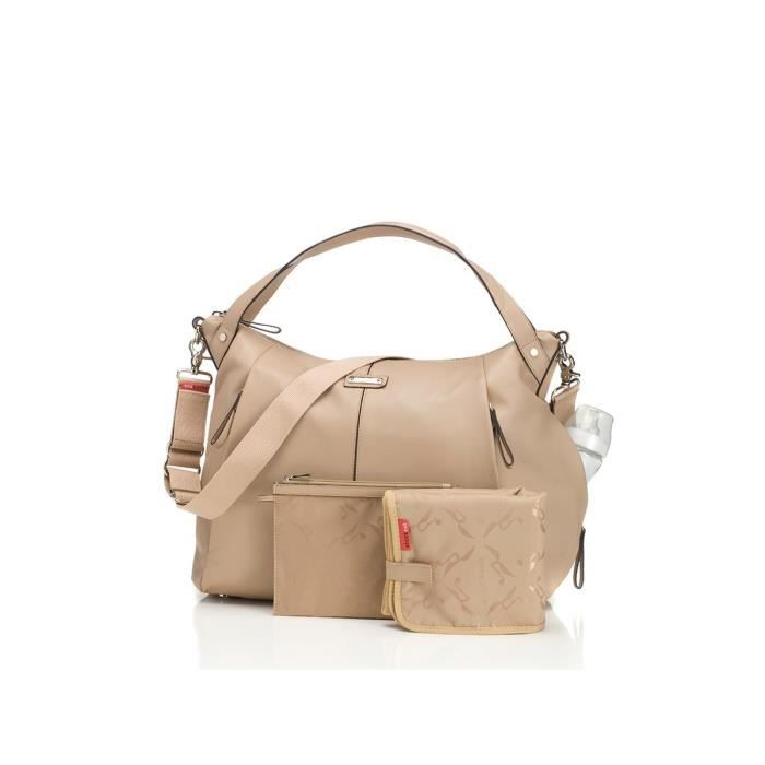 Leather Catherine Beige À Sac Langer Storksak YIq0Zwc