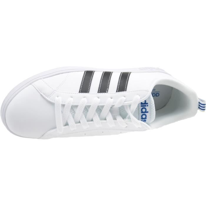 Adidas VS Advantage F99256 Homme Baskets Blanc,Noir