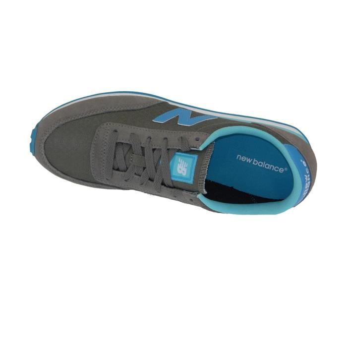 Chaussures U410 Suede Textile Grey/Turquoise - New Balance