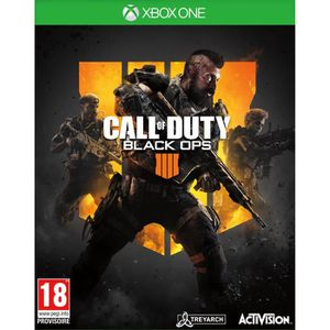 JEU XBOX ONE Call of Duty Black OPS 4 Jeu Xbox One