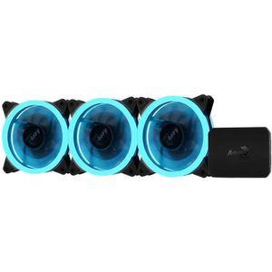 VENTILATION  AEROCOOL Pack de 3 Ventilateurs pour boitier PC Re