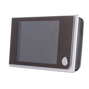 JUDAS - ŒIL DE PORTE 3.5 pouces LCD Digital Judas Viewer 120 ° porte oe